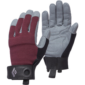 Black Diamond Crag Gants Femme, bordeaux